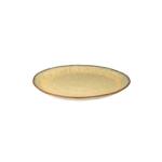 Bord 28 cm Rustique mosterd geel