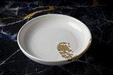 Bord diep 21 cm Royal Dutch 24 karaat goud