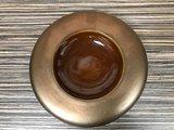 Bord donut 17 cm goud metallic Raw by Kevala