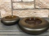 Bord donut 22 cm goud metallic Raw by Kevala_