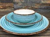 Gural Ent Diep Bord Blauw 20 cm_
