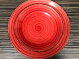 Gural Ent Plat bord rood 27 cm_