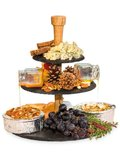 Cheese tower etagere leisteen_