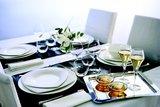 Bord 21,5 cm vierkant Satinique  Chef&Sommelier_