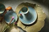 Diep bord 21 cm Lotus_
