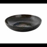 Bord diep 26 cm Metallic groen