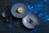 Dessertlepel Gioia Gun Metal zwart 18/10_