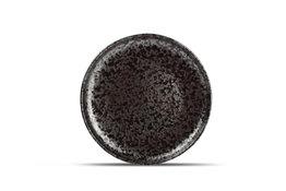 Bord 21 cm Oxido zwart
