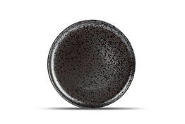 Bord plat 28 cm Oxido zwart