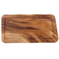 Houten plank met gleuf 35 x 20 cm Acacia