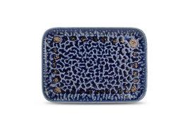 Bord rechthoekig 28 x 20 cm Oxido cobalt