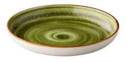 Diep bord 26,5 cm groen Jersey