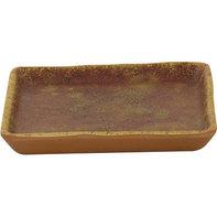 Melamine Vierkant Bord 10 x 10 cm Cheforward Clay Azul