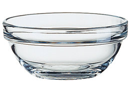 Empilable schaaltje glas 14 cm