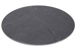 Leisteen bord rond 30 cm