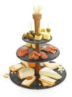 Cheese tower etagere leisteen