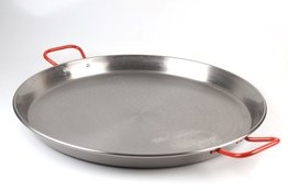 Paella pan 36 cm staal