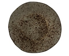 Bord rond 21 cm Iron Stone