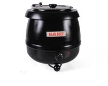 Soepketel Bistro 10 liter zwart