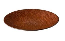 Bord rond 27,5 cm Croco