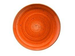 Diep bord 20 cm Terracotta Aura