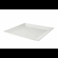 Bord vierkant 27 cm White Delight Palmer