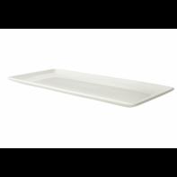 Bord rechthoekig 15 x 33 cm Lux Maastricht Porselein
