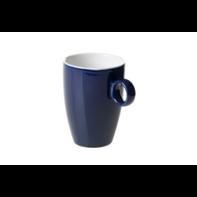 Beker 23 cl blauw Bart Maastricht Porselein