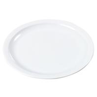 Bord 18 cm sandwich rond wit melamine Kingline