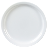 Bord 23 cm rond wit melamine Kingline