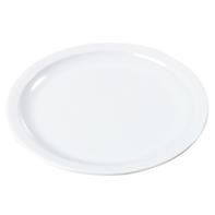 Bord 25 cm rond wit melamine Kingline