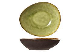 Diep bord ovaal 19,5 cm Mossa