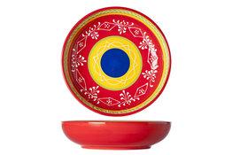 Bord 20 cm Sombrero Red
