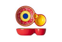 Olijvenschaal 19,5 cm Sombrero Red