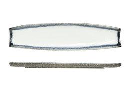 Schaal rechthoekig 51 x 13 cm Sea Pearl