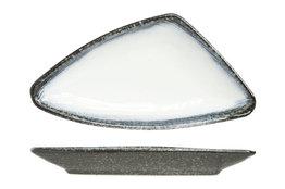 Bord driehoek 20 x 10 cm Sea Pearl