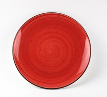 Bord 25 cm Passion Red Aura