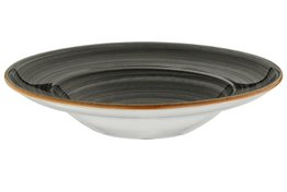 Pasta bord XL 30 cm Space Grey Aura