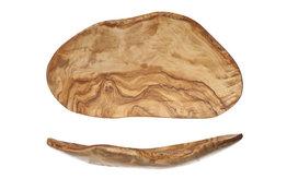 Fruitschaal klein 23-28 cm Olijfhout