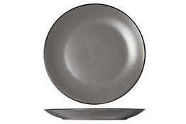 Plat bord 27 cm Speckle Grey