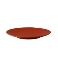 Bord 21 cm rood Rodondo Palmer