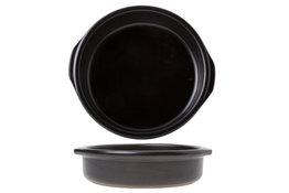 Creme Brulee tapas schaal zwart 17 cm