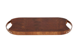 Houten plank mangohout 44 x 16 cm