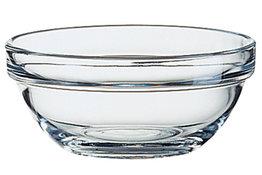 Empilable schaaltje glas 9 cm
