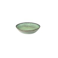Diep bord 21 cm Rustique groen