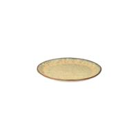 Bord 22 cm Rustique mosterd geel