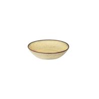 Diep bord 21 cm Rustique mosterd geel