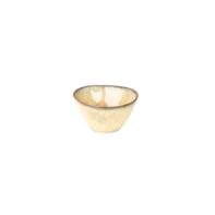 Kom 15 cm Rustique mosterd geel