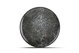 Bord plat 30 cm Cosmos Black