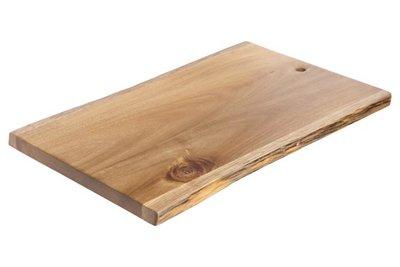 Houten plank Acacia 35 x 24 cm